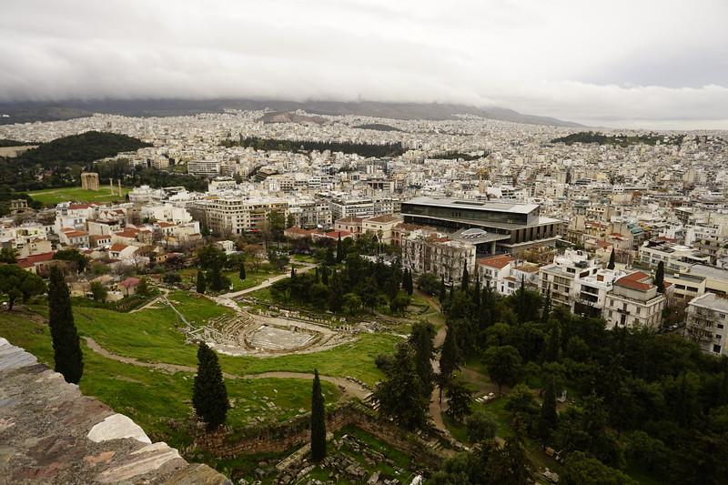 027 - Acropolis - Fog SE Side of Acropolis