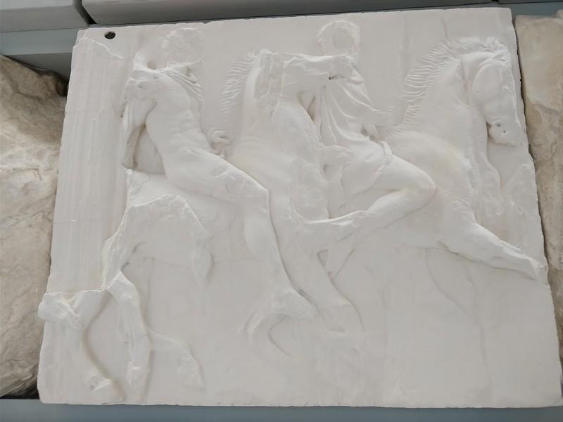 058 - Acropolis Museum - Section of the Original Parthenon Frieze