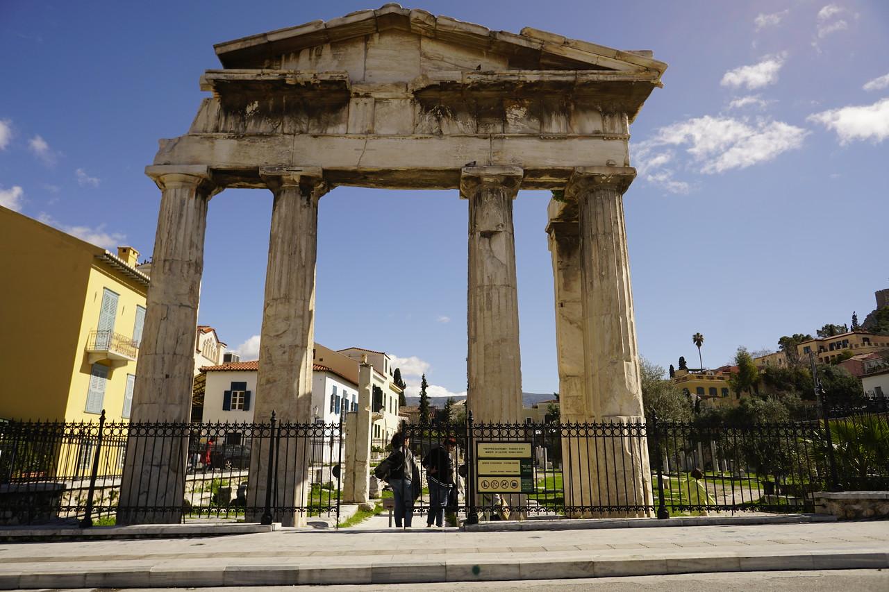 048 - Athens - Ancient Agora Entrance