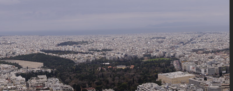 011 - Athens - Lycabettus Hill Panorama 1