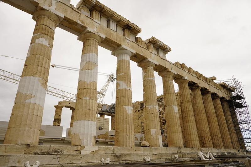 031 - Acropolis - Parthenon North Wall