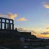 085 - Cape Sounion - Temple of Poseidon at Sunset