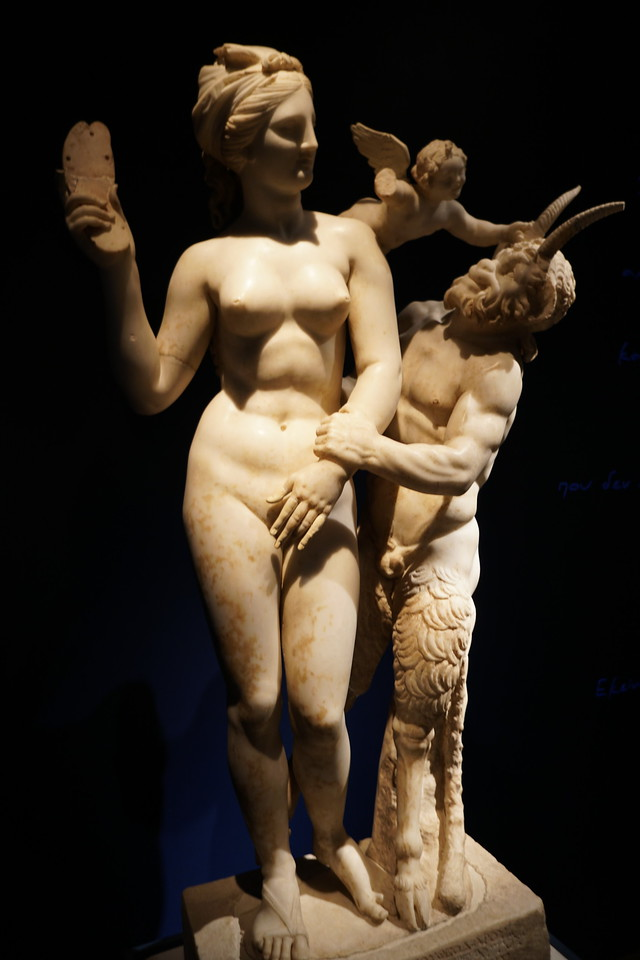 073 - National Archaeological Museum - Aphrodite, Pan and Eros