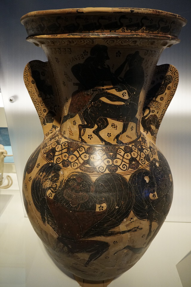 070 - National Archaeological Museum - 7th Century BC Amphora