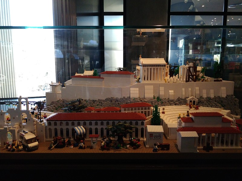 060 - Acropolis Museum - The Acropolis in Lego Form