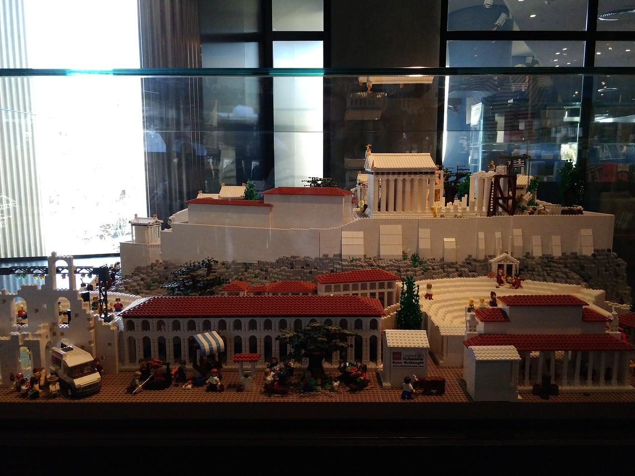 060 - Acropolis Museum - The Acropolis in Lego Form