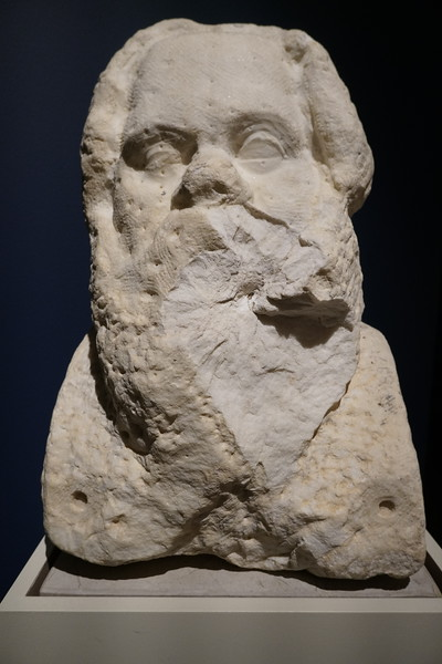 072 - National Archaeological Museum - Unfinished Bust of Socrates