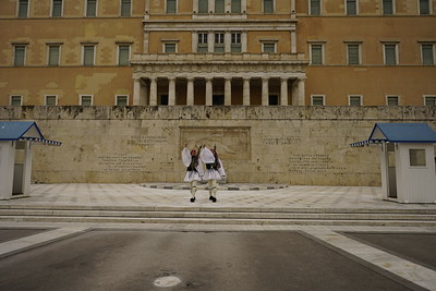 006 - Athens - Tomb of the Unknown Soldier Ceremony 2