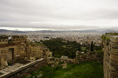 021 - Acropolis - View from the West Entrance