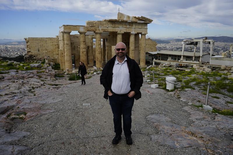 041 - Acropolis - Matt on the Acropolis