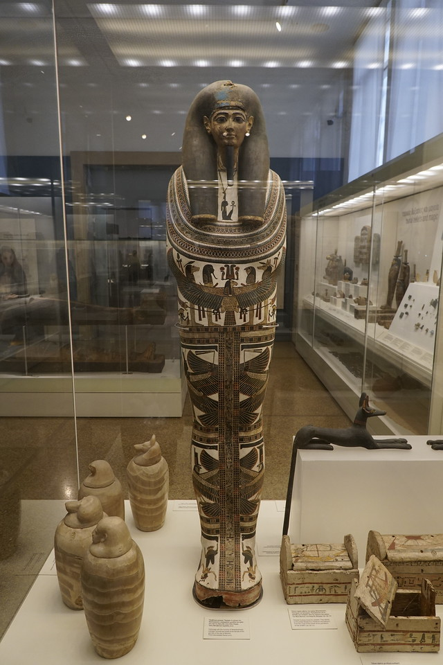 067 - National Archaeological Museum - Egyptian Sarcophagus