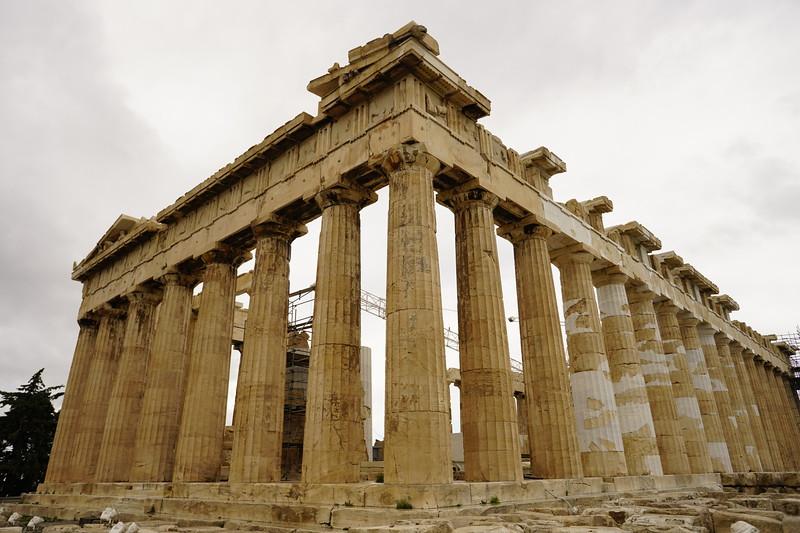 030 - Acropolis - Parthenon NE Corner