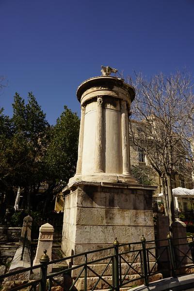 046 - Athens - Choragic Monument of Lysicrates