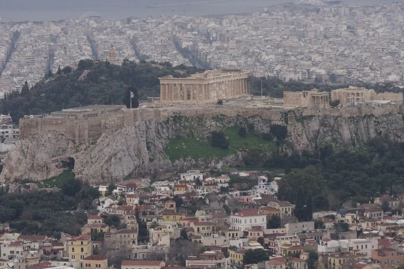 010 - Athens - Acropolis from Lycabettus Hill