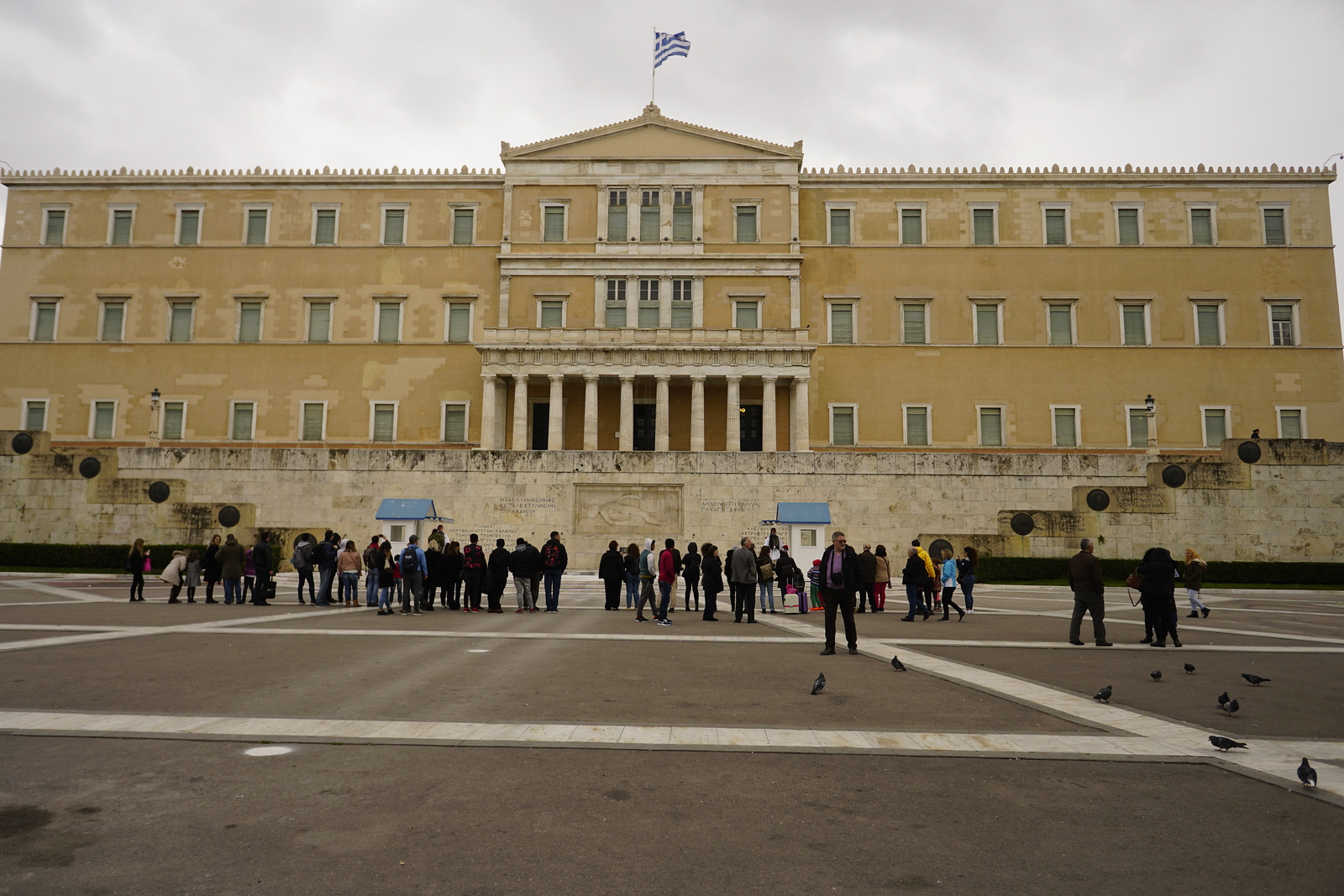 007 - Athens - Parliament and Tomb of the Unknown Soldier