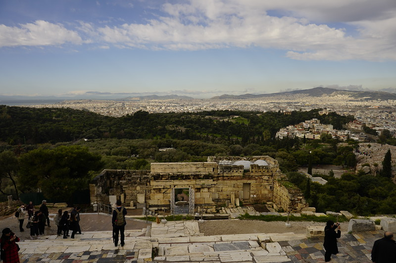 042 - Acropolis - View from Western Entrance Gate with Better Weather