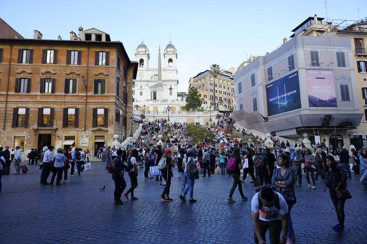 Day 03 - 013 - Rome - Piazza di Spagna