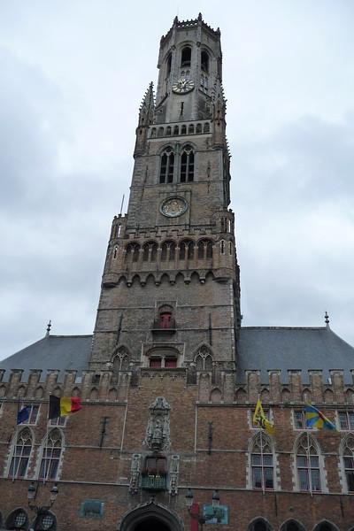 Bellfort in Bruges Markt