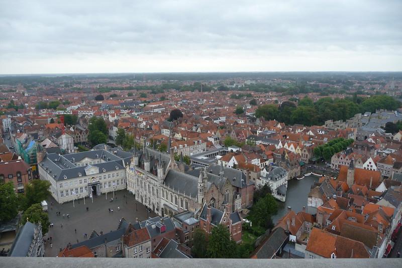 Bruges de Burg from Bellfort