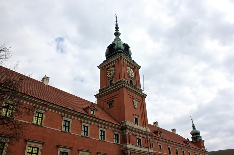 The Royal Palace in Warsaw, Poland