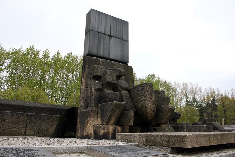memorial at Birkenau