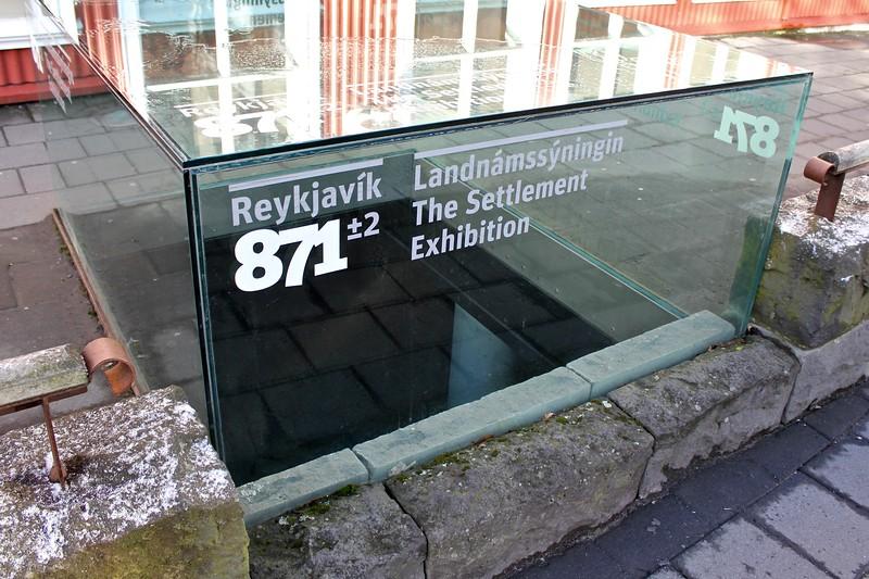 The Settlement Exhibition in Reykjavik, Iceland