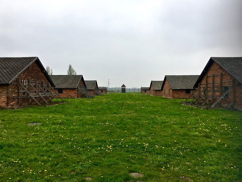 the boys barracks at Birkenau