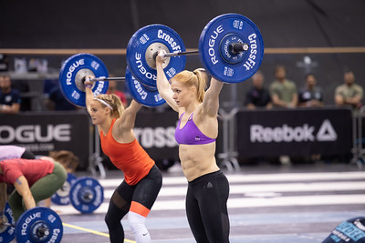 during the 2018 CrossFit Games Europe Regional event held May 18, 19 and 20 at the Berlin Velodrom,