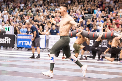 TE6 during the 2018 CrossFit Games Europe Regional event held May 18, 19 and 20 at the Berlin Velodrom,