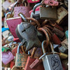 There were many interesting locks among the ordinary ones.