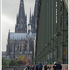 On our last full day, Chloe and I went accross the Rhine river via the Hohenzollern Bridge.