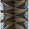 A very elaborate ceiling.