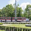 Transportation in Tallinn at the Viru Gate