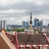 Cityscape view - Discover Tallinn's medieval architecture and cobblestone streets