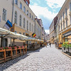 Discover Tallinn's medieval architecture, the old wall and towers and cobblestone streets