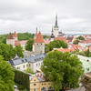 Medieval Cityscape - Discover Tallinn's medieval architecture, the old walls and towers and cobblestone streets