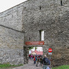 Discover the medieval tower wall in Tallinn