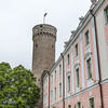 Pikk Hermann, Tall Hermann Tower is part of the medieval wall and Toompea Castle of Tallin's Old Town