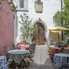Medieval Cathrine's Alley in Tallinn is lined with artist workshops, stores and cafes