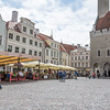 Discover Tallinn's Town Square with medieval architecture and cobblestone streets