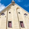 Discover medieval windows in doors of Tallinn, Estonia - St Catherines Church