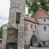 The Viru Gate entrance to medieval Tallinn