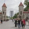 Discover Viru Gate and shops in medieval Tallinn