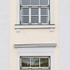 Decorative window and door  architecture of medieval Tallinn Estonia