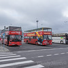 Tallinn Estonia Port of Call - City tour busses wait for passengers - Top things to do in