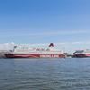 Viking Line Cruise ships visit Helsinki Finland