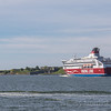 the historic fortress at Suomenlina - Top things to do in Helsinki - Viking Cruise Line head out of harbour