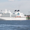 Seabourn Cruise Line visits Helsinki, Finland on the Baltic