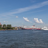 Cruise ships visit Helsinki, Finland