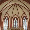 Historic neo-Gothic style Warnemünde Church
